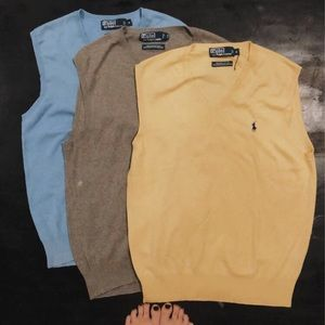 Polo by Ralph Lauren Sweater Vest Haul